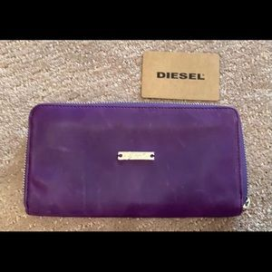 🆕Diesel wallet leather